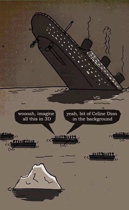 titanic distancing ourselves