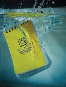 notebook waterproof