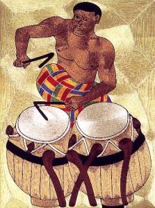 talking drums Emmanuel Yeboah