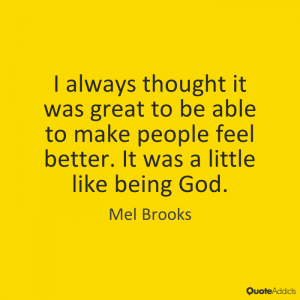 mel brooks little like god